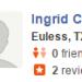 Ingird C <span>11/7/15, Euless</span>