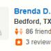 Brenda D,<span>Bedford, 3/18/2018</span>