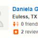 Daniela G, <Euless, 3/24/2018></span>